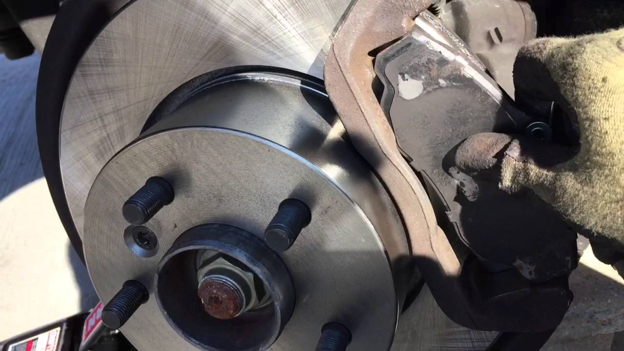 2000 Land Rover Discovery 2 Front Rotor Replacement Youtube