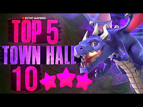 Top 5 Amazing Town Hall 10 Attack Strategies In Clash Of Clans