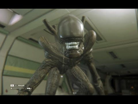 VR хоррор.  Alien: Isolation Тут вам объяснят технику безопасности