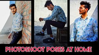 Top Poses For Boys | Photoshoot At Home | Mobile Photography