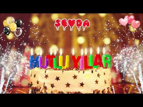Doğum günün kutlu olsun SEVDA, İyi ki doğdun Mutlu Yıllar Sana, İsme Özel Doğum Günü Şarkısı