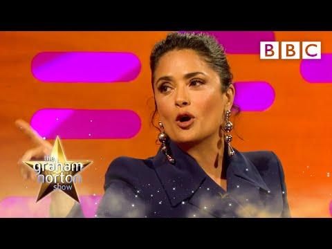 Salma Hayek jokes about turning 50  The Graham Norton  2017: P