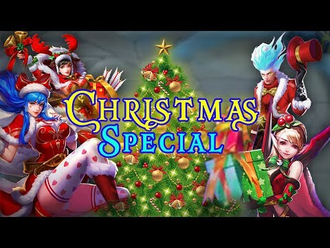 All Christmas Cheer Skins in One Video ! Lets Celebrate Christmas Together ♥