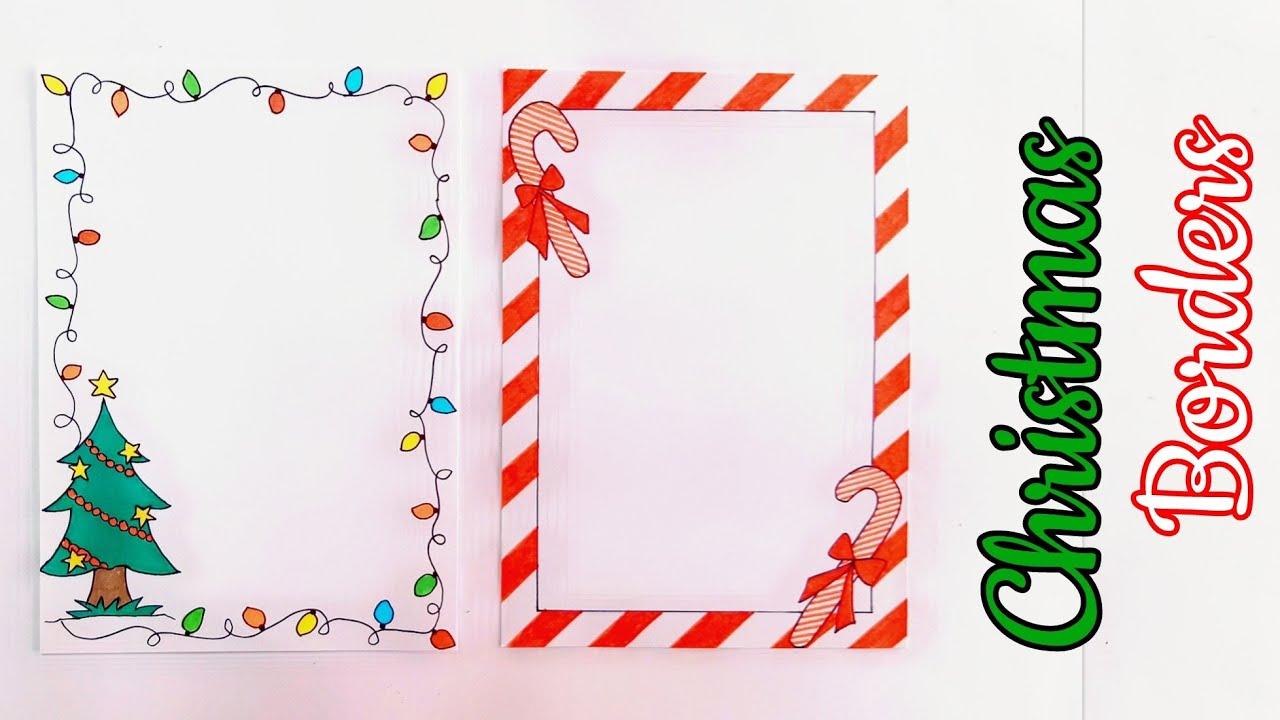 Christmas Border Designs/Border Designs for Christmas/Christmas ...