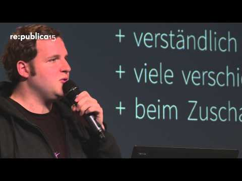 MEDIA CONVENTION Berlin 2015 - Alexander Lehmann: PRIMARK HAUL vs. Fracking Net Neutrality on YouTube