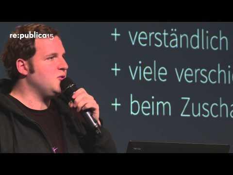 MEDIA CONVENTION Berlin 2015 - Alexander Lehmann: PRIMARK HAUL vs. Fracking Net Neutrality on YouTube