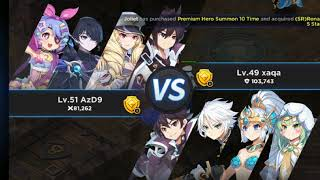 Granchase mobile pvp cheater
