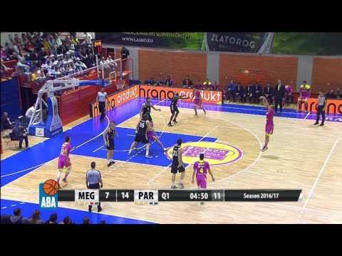ABA Liga 2016/17, Round 24 match: Mega Leks - Partizan NIS (27.2.2017)
