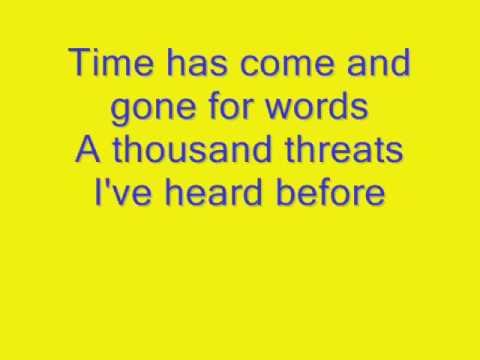 EndeverafteR- No More Words lyrics