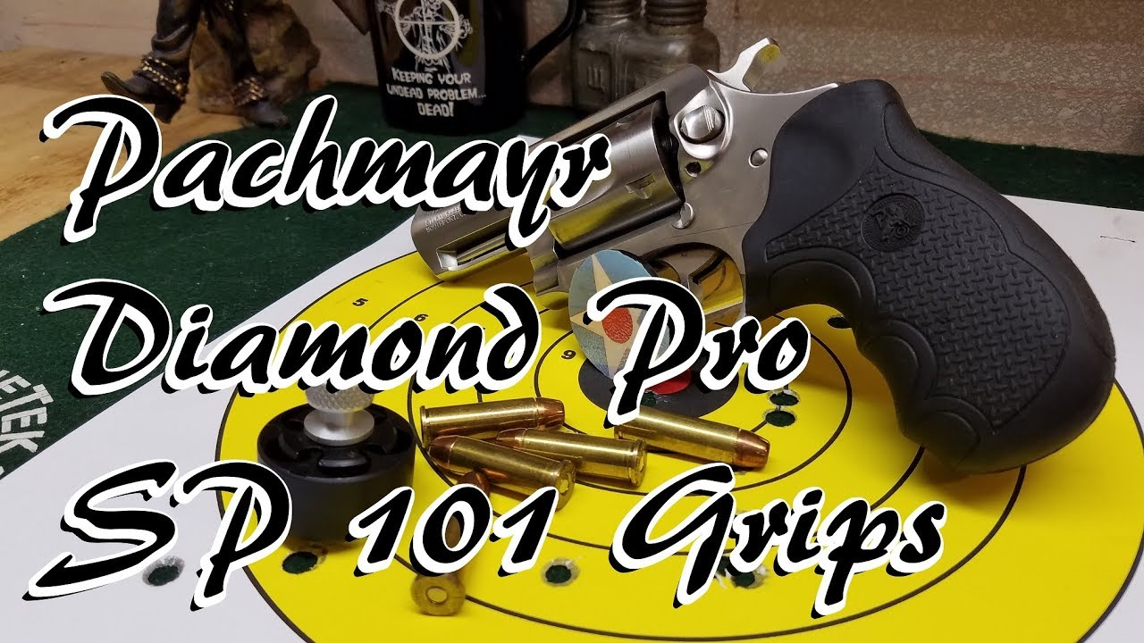 Pachmayr Diamond Pro Ruger SP101 Grip Install & Review