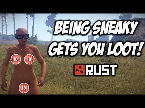 RUST   BEING SNEAKY GETS YOU LOOT! Solo Survival! S6-E3