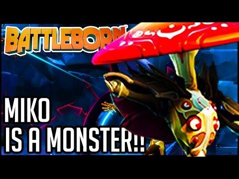 MIKO IS A MONSTER!! Battleborn Gameplay Walkthrough - Co-Op (1080p XB1/PS4/PC)
