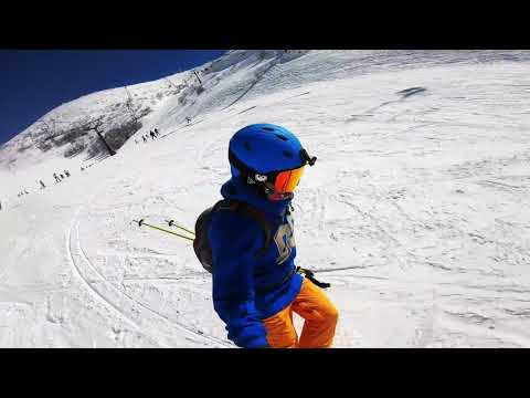 Skiing In Israel On The Mount Hermon , Gopro 7 Black, 2019