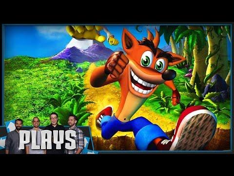 Tim Beats Crash Bandicoot! - Kinda Funny Plays
