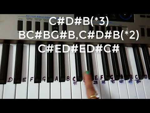 Mujhse shaadi Karogi|Kabtak Jawani Chupaogi|Salman Khan|Piano|KeyboardTutorial|Harmonium|Easy notes