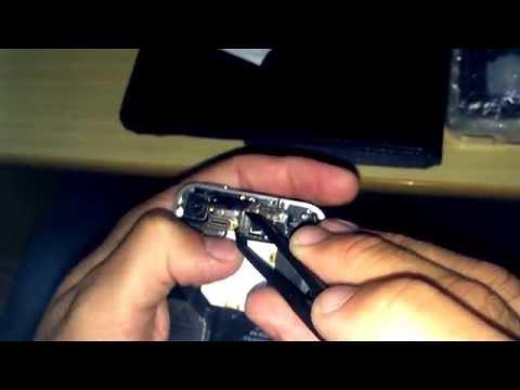 Como fazer a maçã do iphone 4 acender