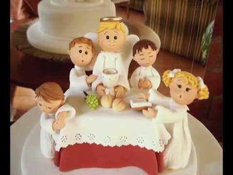 tortas de primera comunion paso a paso