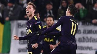 Juventus 2-2 Tottenham   Eriksen & Kane's Comeback Gives Spurs The Advantage    Internet Reacts