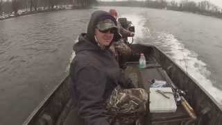 Hot December Smallmouth Fishing on the Upper Mississippi River