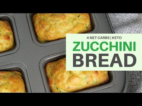 Making zucchini bread with coconut flour