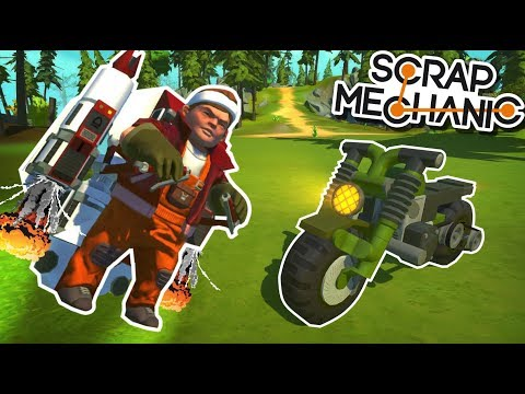 10 AMAZING CREATIONS! Jetpack, Survival Truck and MORE! - Scrap Mechanic Viewer Creations!