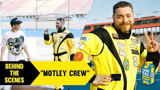 Behind The Scenes of Post Malone's Motley Crew Music Video