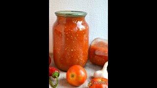 Соус томатный с яблоками и баклажанами в мультиварке на зиму