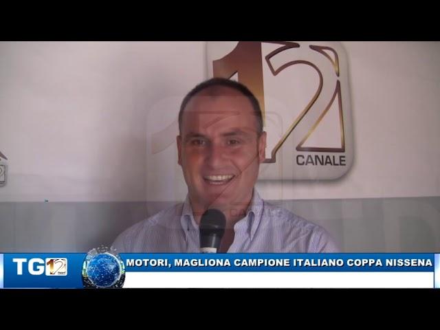 MOTORI, MAGLIONA CAMPIONE ITALIANO COPPA NISSENA