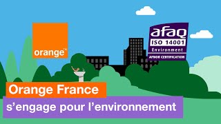 Orange s'engage pour l'environnement - Orange