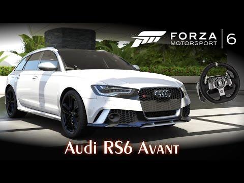 Audi RS6 Avant! A perua mais rápida do mundo! ;)   Forza Motorsport 6 + G920 [PT-BR]