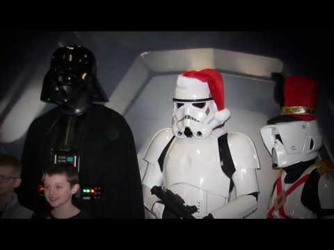 Star Wars Oregon at Christmas Storybook Land 2017