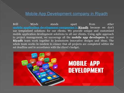 Mobile App Development company in Riyadh
