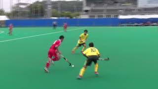 2018IH 男子ホッケー 1回戦 玄界(福岡県) 対 小国(熊本県)