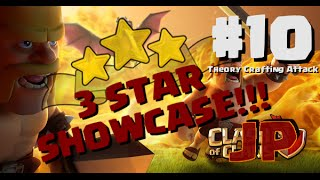 Clash of Clans [JP] ☆☆☆ 3 Star Showcase! #10 - GoHo + Surgical Hogs (Theory Crafting Attack)