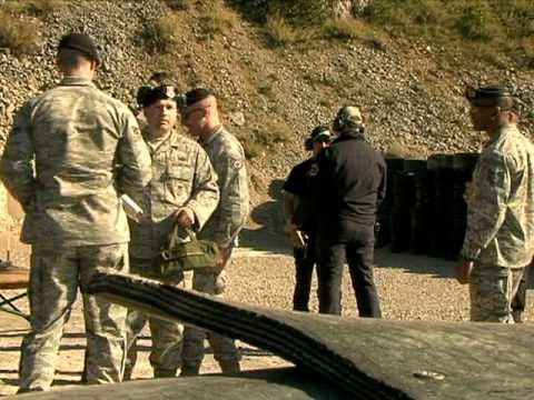 Aviano security forces compete in international shooting competition in Slovenia