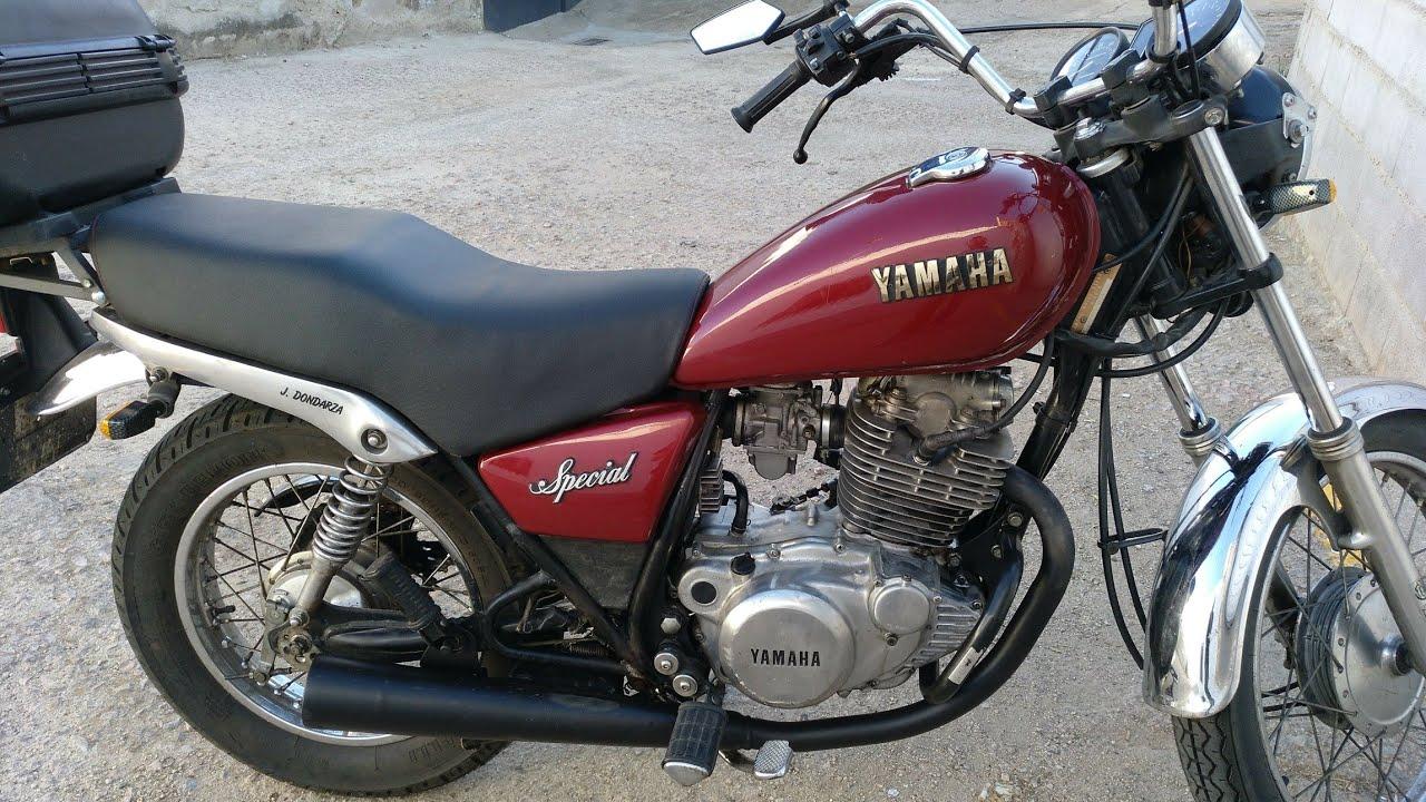 Ruido en la Yamaha sr250 sp