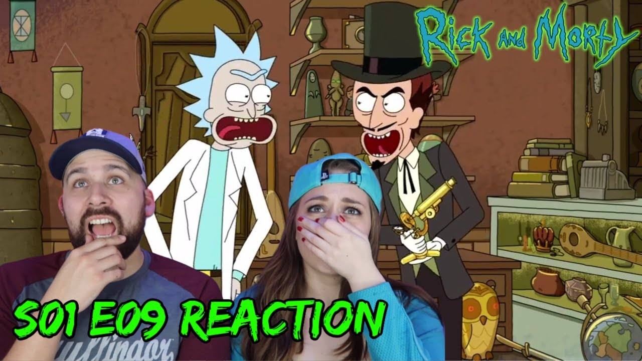 Rick And Morty S01 E09 Something Ricked This Way Comes Reactions On The Rocks Youtube