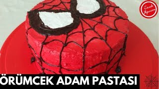 Örümcek Adam Pastası-Pasta Tarifleri-Spiderman Cake