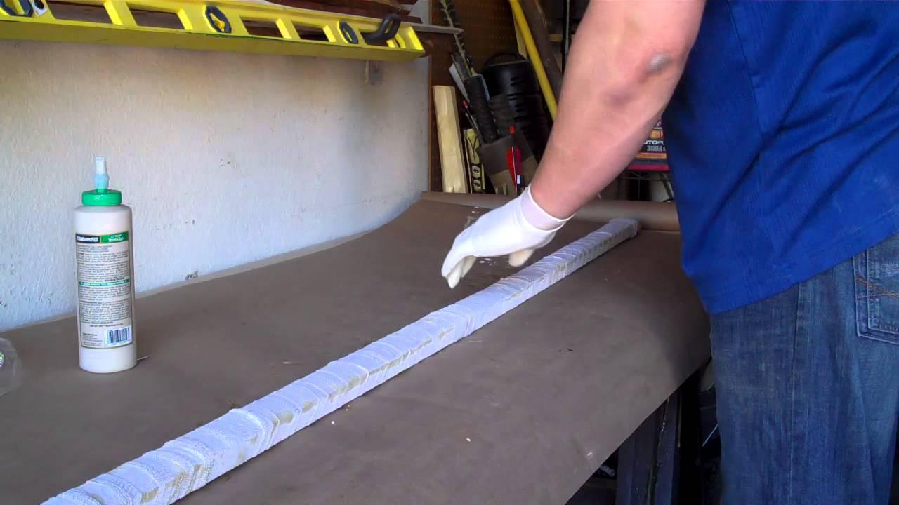 Gluing up a Bamboo Backed Longbow: Wood Glue