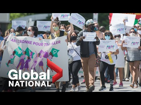 Global National: July 4, 2020 | Protests call for stronger protections for migrant workers