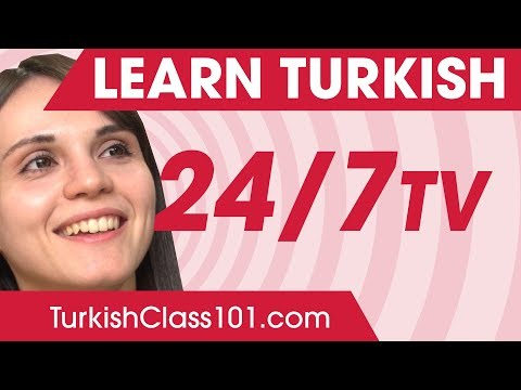 Learn Turkish in 24 Hours with TurkishClass101 TV