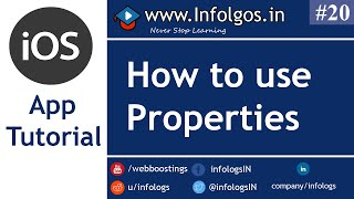 Use of Properties in xCode - Tutorial 18