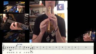 Secrets - OneRepublic  - Recorder (flute) cover - Carlos Rodríguez Parrón @carlosrpmusica