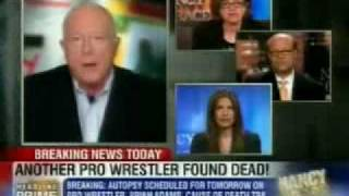 "Kessler on Headline News discussing the death of Brian ""Crush"" Adams"