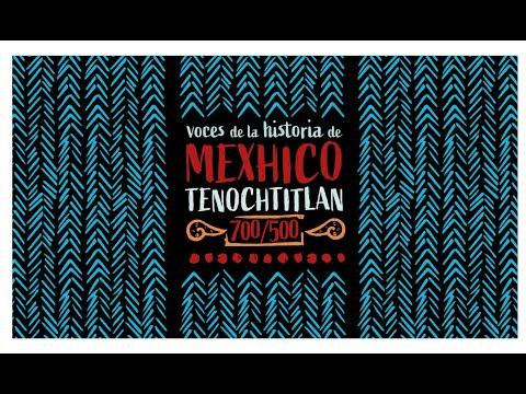 Voces de la historia de Mexhico Tenochtitlan. 700/500. Capítulo 55