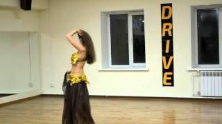 Восточные танцы   тренер Ирина   выступление на отчетном концерте октябрь 2015   Школа танцев Драй