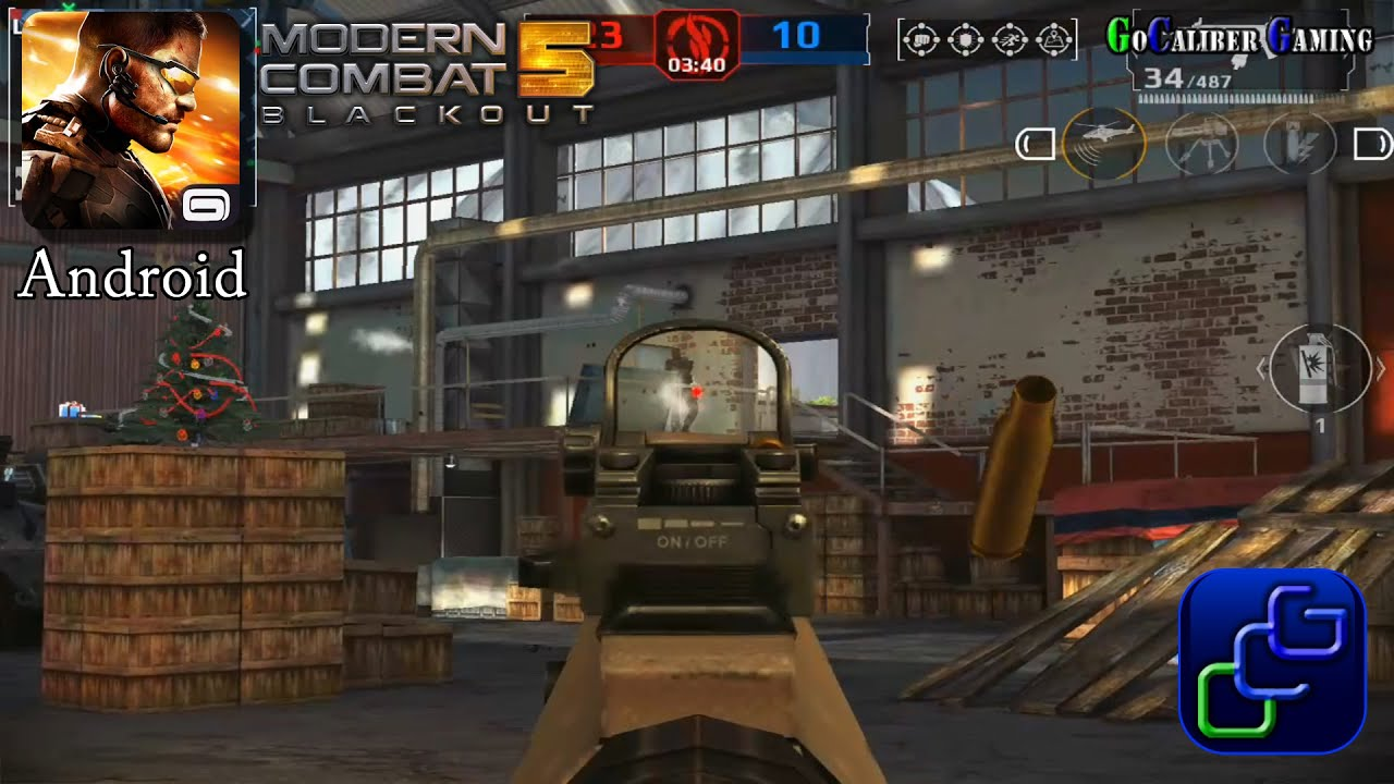 modern combat 5 blackout android gameplay new update multiplayer map scramble