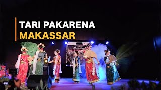 Tari Pakarena Traditional Dance South Sulawesi