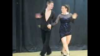 Latin dance at Orangewood fiesta  Зажигательный испанский танец(Orangewood Elementary School Talent show, Mrs. Hall performing on stage with her partner from Fred Astaire professional dance studio, Fort Myers, Florida., 2013-06-06T19:25:43.000Z)