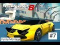 WTF?!?! Asphalt 8 Funny Montage #7 (3,500 Subscribers and 1M Views Special)